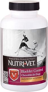Nutri-Vet Bladder Control|Dog Bladder Control Supplement|Reduce Urinary Incontinence & Facilitate Bladder Emptying|90 Chew...