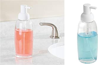 Bosphorus Liquid Soap Dispenser, Clear/White, 15010ES