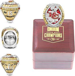 2019-2020 Kansas City Champions 'Super 'Bowl Replica Chiefs Championship 'KC Rin