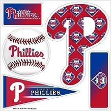 """مغناطيس ثلاثي الأبعاد متعدد الأبعاد """"5 قطع"""" لفيلادلفيا فيليز بدوري كرة القاعدة الرئيسي"""