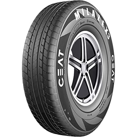 Ceat Milaze X3 TL 185/65 R14 86T Tubeless Car Tyre, Front (105032 )