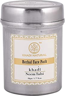 KHADI - Herbal Face Pack Neem-Tulsi - 50g