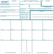 fingerprinting form fd-258