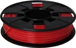 MakerBot PLA Filament, 1.75 mm Diameter, Small Spool, Red
