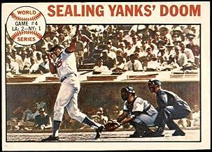 1964 Topps # 139 1963 World Series - Game #4 - Sealing Yanks' Doom - Frank Howard Los Angeles/New York Dodgers/Yankees (Ba...