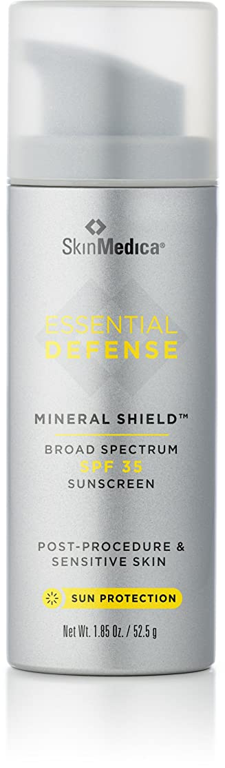 あごひげ昇る幸福スキンメディカ Essential Defense Mineral Shield Sunscreen SPF 35 52.5g/1.85oz