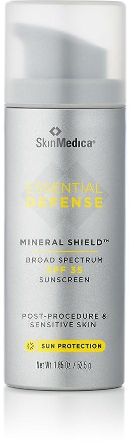 アナロジー電気的教育者スキンメディカ Essential Defense Mineral Shield Sunscreen SPF 35 52.5g/1.85oz