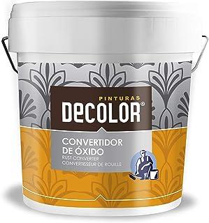 comprar comparacion Corvertidor de óxido. .Imprimación al agua para metales 750 ml Incoloro .Pinturas DECOLOR