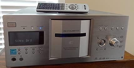 Sony DVP-DVPCX777ES/B 400 Disc DVD/SACD/CD Changer – Black