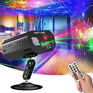 DJ Disco Party Lights, podiumverlichting, GEELIGHT LED Karaoke Strobe Perform voor podiumverlichting met afstandsbediening...