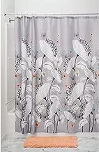 InterDesign Alice Fabric Shower Curtain, 72 x 72, Pastel Multi