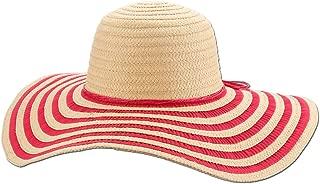 Panama Jack Women's Sun Hat - Packable, Lightweight Braid/Ribbon, UPF (SPF) 50+ Sun Protection, 5