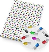 Kleding stof Gezonde verpleegster polyester katoenen stof voor weefsel kinderen thuis textiel voor naaiende pop doek, Naai...