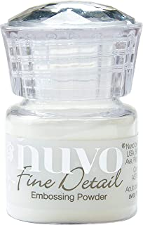 Nuvo NEPFD-586 Embossing Powder Fine Detail .68oz, Crystal Clear