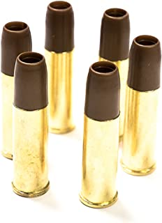 Black Ops Exterminator Airsoft BB Revolver Cartridges - Pack of 6 Shells for Standard 6mm Airsoft BBs