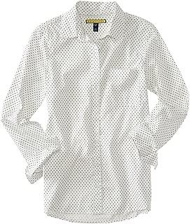 AEROPOSTALE Womens Polka Dot Button Up Shirt