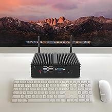 Mini-pc Desktop-pc Goede uitbreidingsprestaties Ontwerp zonder ventilator Klein kantoor voor thuis(European regulations)