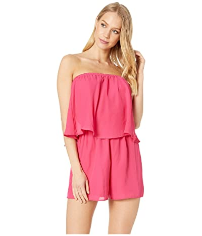 Show Me Your Mumu Thelma Romper (Hot Pink) Women