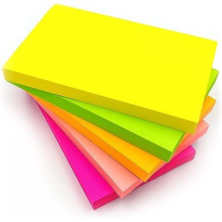 Sinoest Selbstklebende Haftnotizzettel Haftnotizen Sticky Notes in 76 x 76 mm Klebezettel bunt zettel farbig Notizbl/öcke /à 100 Blatt in 12 Farben f/ür B/üro Haushalt Studenten