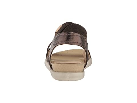 Nubuck Black Cow Cow Leather Sandal Cow Black Strap ECCO Powder Damara 2 NubuckLicorice Powder 0qxRwOIH