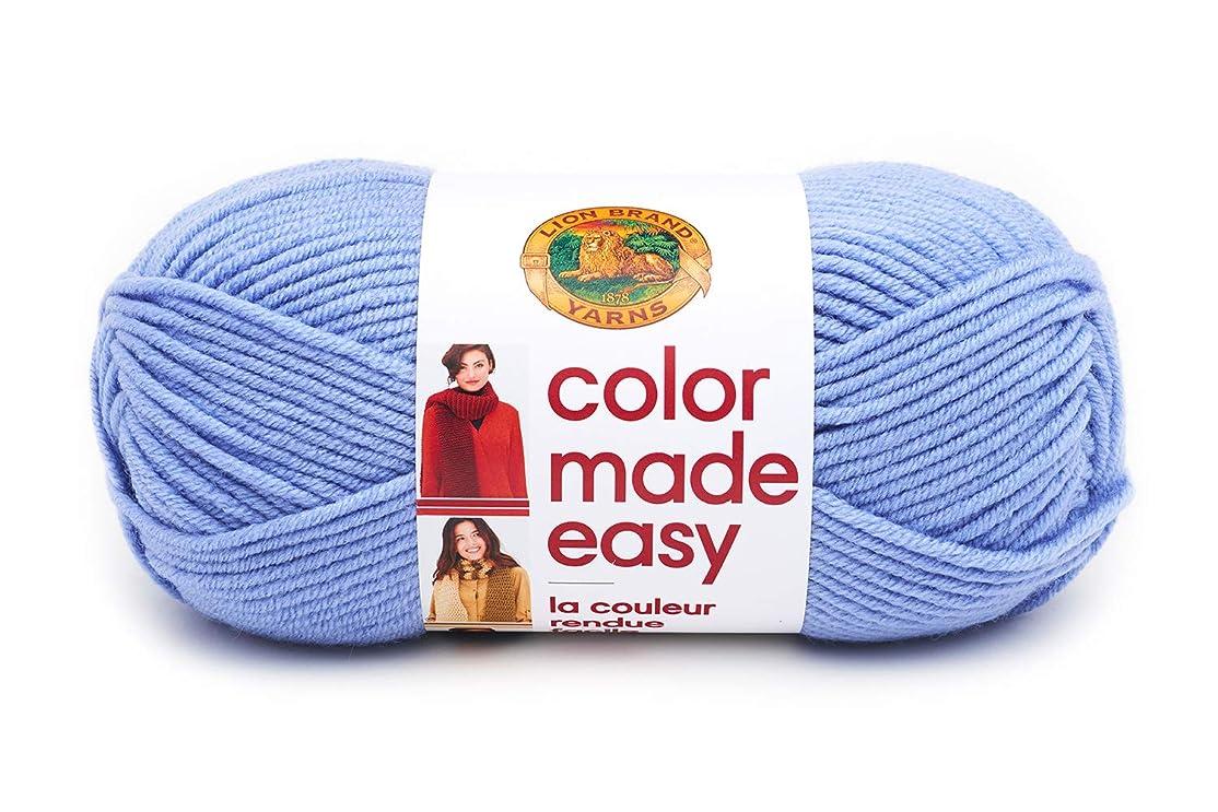 Lion Brand Yarn 195-144 Color Made Easy Yarn, Horizon yfrlok7600