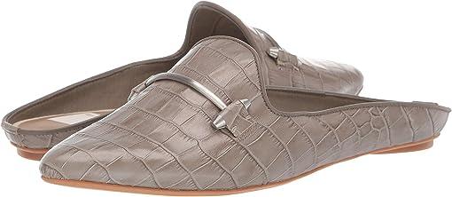 Sage Croco Embossed Leather