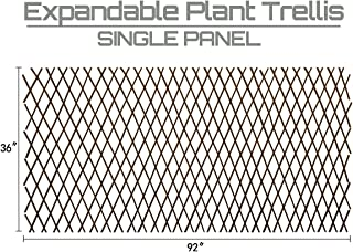 Expandable Garden Trellis Plant Support Willow Lattice Fence Panel for Climbing Plants..