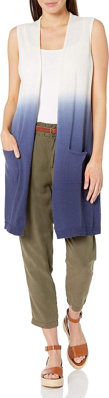 Foxcroft Women's Celeste Dip Dye Sleeveless Knit Vest