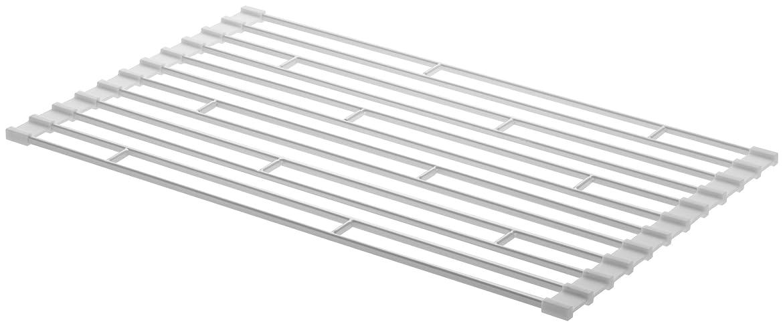 について閲覧するリース山崎実業 折り畳み水切りラック S ホワイト 約W26×D42×H0.8cm タワー 7837