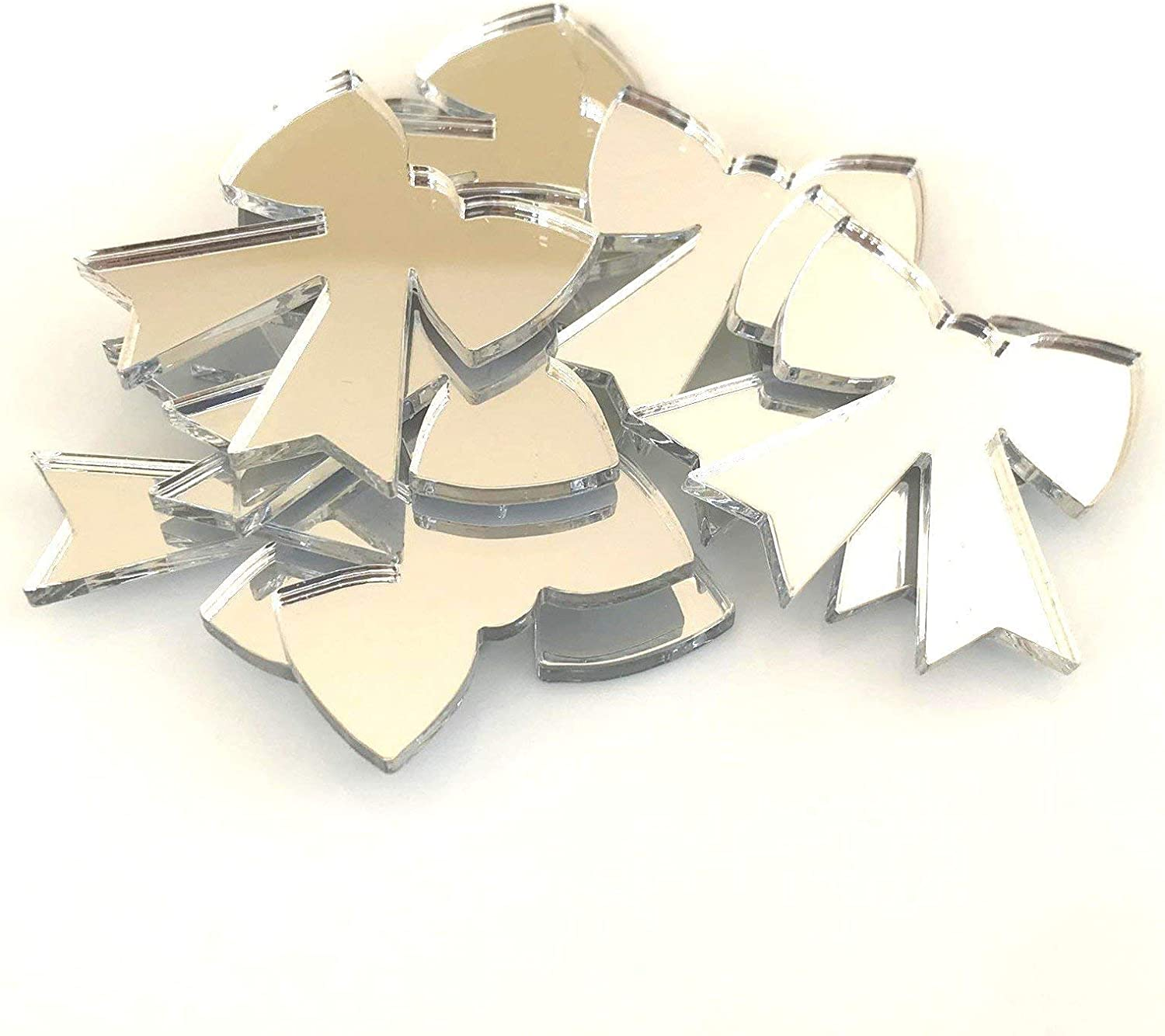 Super Cool Creations Bow Ribbon Crafting of Shaped New product type Mirrors Set Manufacturer direct delivery