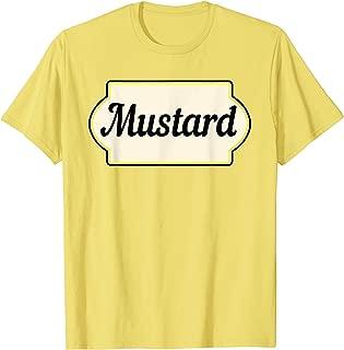 Ketchup & Mustard Easy Halloween Costume Matching Couple T-Shirt
