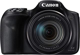 Canon PowerShot SX540 HS Fotocamera Bridge Digitale, 20.3 Megapixel, Nero/Antracite