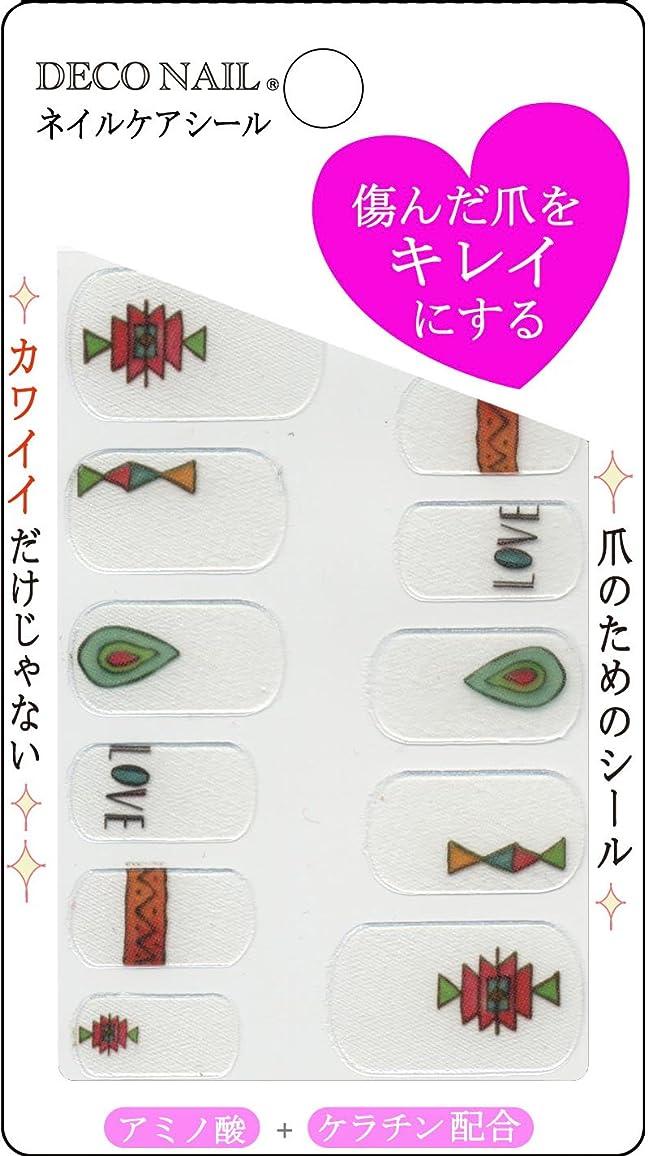 華氏木材土ネイルケアシール DNK1-10 幾何学