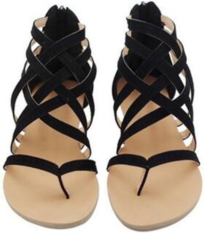 Spyman Plus Size 35-43 Flats Summer Women's Sandals Casual shoes for Woman European Rome Style Sandalias