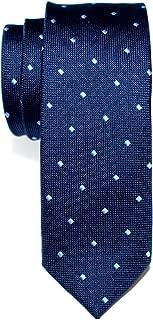 Retreez Retro Square Dots Woven Skinny Tie Necktie - Various Colors