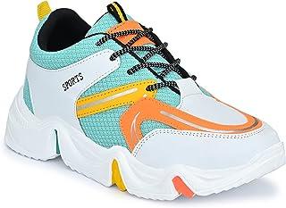 AROOM Men's Sneakers Fashion Sport Running Non Slip Casual Shoe Walking Type Shoes