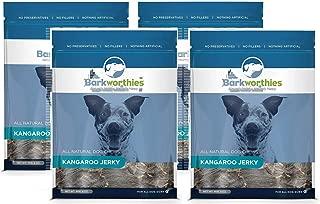 Barkworthies All Natural Dog Treats - Protein Rich Kangaroo Jerky Dog Treats