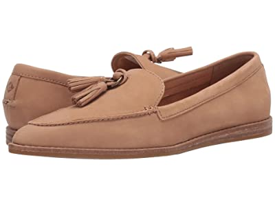 Sperry Saybrook Slip-On Leather (Tan) Women