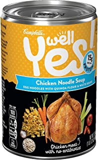 Campbell's Well Yes! Chicken Noodle Soup, 16.2 oz. Can