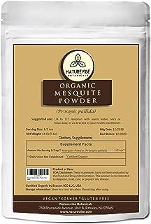 Naturevibe Botanicals Organic Mesquite Powder 1lbs, Prosopis pallida | Gluten Free & Non GMO | Rich in Protein