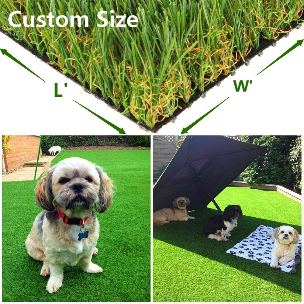Green Pasture Artificial Grass Super beauty product restock quality top Turf 3ft x 8ft 24 store sq ft Drain w