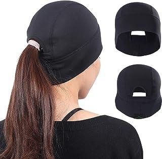 hikevalley Skull Cap Helmet Liner Winter Thermal Fleece Beanie Windproof Hat