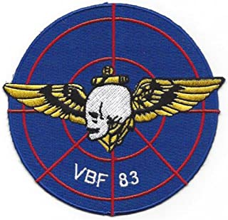 VBF-83 Patch Skull with Pilot Wings