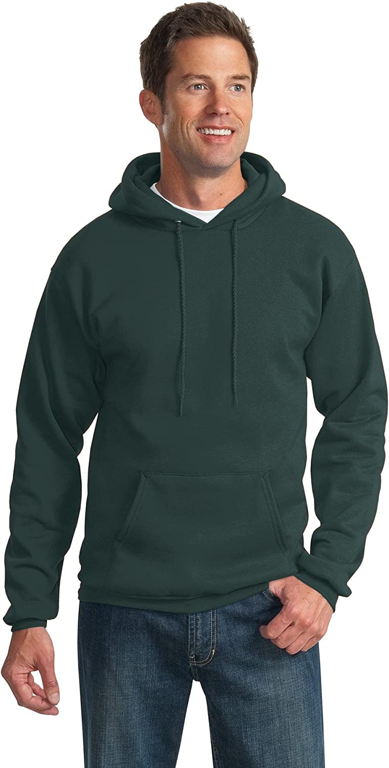PORT AND COMPANY Tall Pullover Hooded Sweatshirt (PC90HT) Dark Green, 2XLT