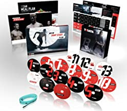 Official TABATA DVD Workout System - 4-minute Hiit Fitness Plus Conditioning, Strength, Flexiblity and Core - Complete Home Fitness