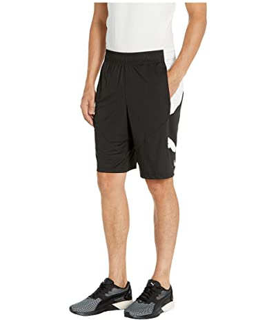 PUMA Cat Shorts (Puma Black/Puma White) Men