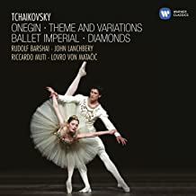 Tchaikovsky: Onegin, Theme And Variations, Ballet Imperial