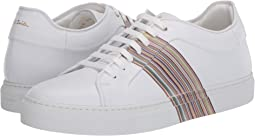 White Multi Stripe