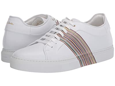 Paul Smith Basso Sneaker (White Multi Stripe) Men