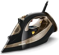 Philips Azur Performer Plus GC4527/00 - Plancha de Vapor 2600W, golpe de vapor 220g, vapor de 50g/min, 0.3 litros, suela T-ionicGlide, Negro/Oro